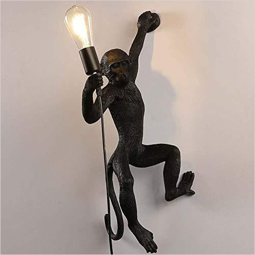 Monkey Study Wall Lamp - Gifteee. Find cool & unique gifts for men, women and kids