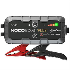 Portable Lithium Car Battery Jump Starter Pack - Find unique gifts for a car lover, cool decor for you car, car gadgets and car bling accessories at Gifteee Cool gifts, Unique Gifts for car lovers