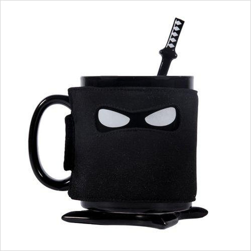 Ninja Mug - Find unique gifts that will get you kids eating well and eating healthy with unique foodie gifts for kids dinner and the kitchen at Gifteee Cool gifts, Unique Gifts that will make kids enjoy eating