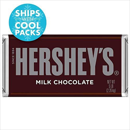 HERSHEY'S Chocolate Bar, 5 Pounds - Gifteee. Find cool & unique gifts for men, women and kids