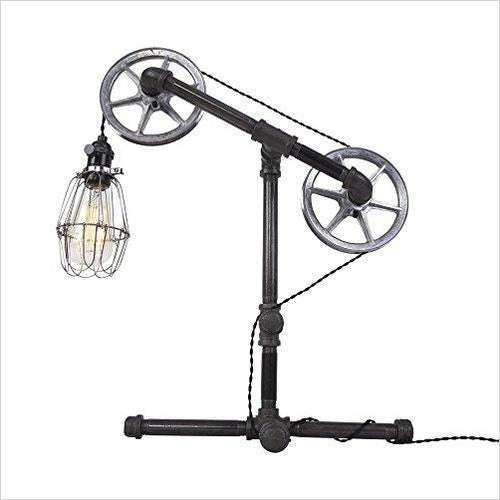 Industrial Table Lamp - Gifteee. Find cool & unique gifts for men, women and kids