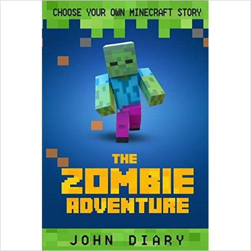 Choose Your Own Story: The Minecraft Zombie Adventure-Book - www.Gifteee.com - Cool Gifts \ Unique Gifts - The Best Gifts for Men, Women and Kids of All Ages