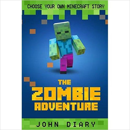 Choose Your Own Story: The Minecraft Zombie Adventure - Find Minecraft gift ideas for kids, educational minecraft gifts, minecraft clothing, minecraft figures, minecraft toys and more at Gifteee Unique Gifts, Cool gifts for Minecraft fans