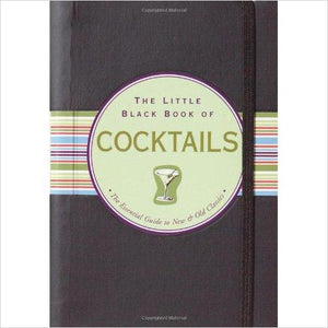 The Little Black Book of Cocktails: The Essential Guide to New & Old Classics - Find unique love and romance gifts, special gifts for Valentine's day, beautiful gifts for your girl friend to spread love into the air at Gifteee Cool gifts, Unique Gifts for Valentine's day