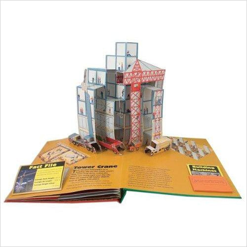 The Amazing Pop-Up Book of Big Machines-pop up book - www.Gifteee.com - Cool Gifts \ Unique Gifts - The Best Gifts for Men, Women and Kids of All Ages
