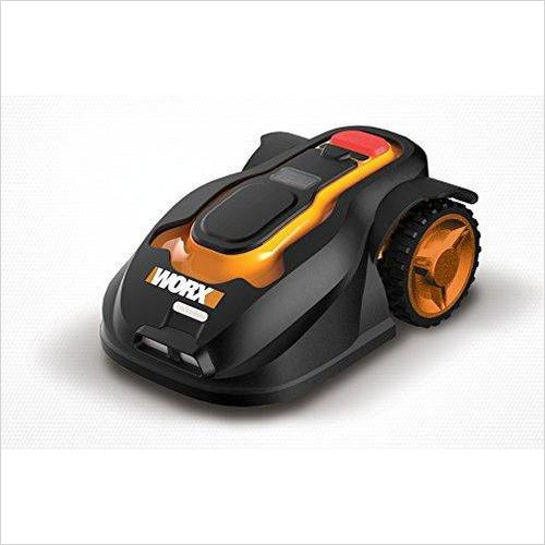 Robotic Lawn Mower with Rain Sensor and Safety Shut-off - Find the newest innovations, cool gadgets to use at home, at the office or when traveling. amazing tech gadgets and cool geek gadgets at Gifteee Cool gifts, Unique Tech Gadgets and innovations