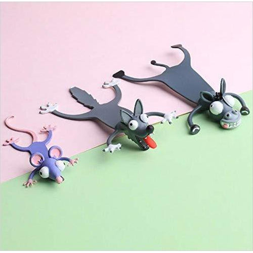 Squashed animals bookmark - Gifteee. Find cool & unique gifts for men, women and kids