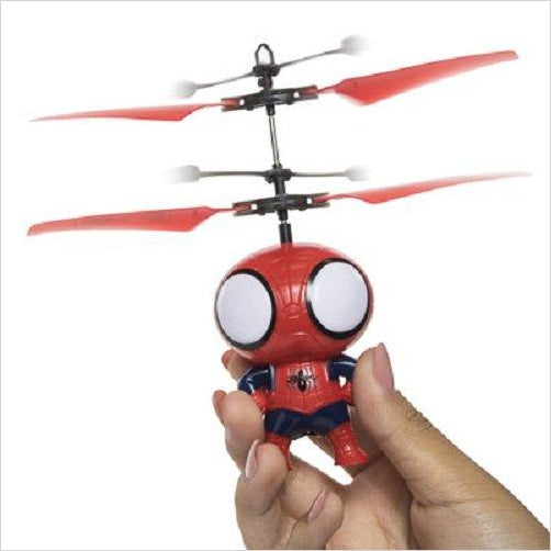 Spiderman Flying Copter-Sports - www.Gifteee.com - Cool Gifts \ Unique Gifts - The Best Gifts for Men, Women and Kids of All Ages