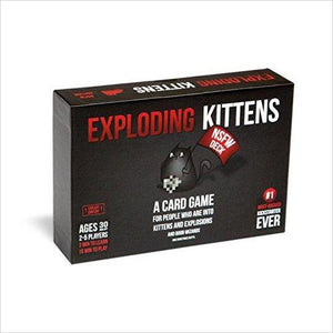 Exploding Kittens: NSFW Edition (Explicit Content - ADULTS ONLY!)-Toy - www.Gifteee.com - Cool Gifts \ Unique Gifts - The Best Gifts for Men, Women and Kids of All Ages