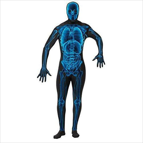 X-Ray Skeleton Skin Full Body Suit-Apparel - www.Gifteee.com - Cool Gifts \ Unique Gifts - The Best Gifts for Men, Women and Kids of All Ages