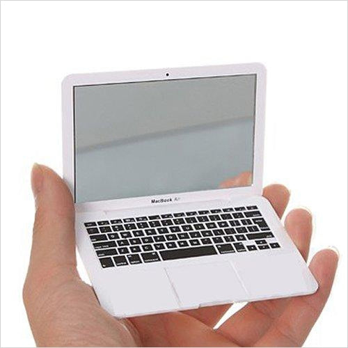 Mini Macbook Air Style Portable Mirror - Gifteee. Find cool & unique gifts for men, women and kids