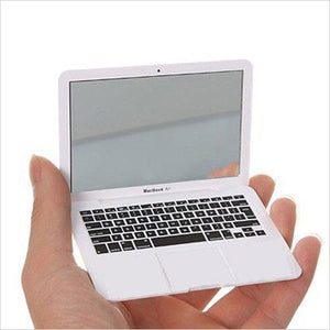 Mini Macbook Air Style Portable Mirror-Beauty - www.Gifteee.com - Cool Gifts \ Unique Gifts - The Best Gifts for Men, Women and Kids of All Ages