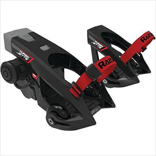 Turbo Jetts Electric Heel Wheels-Sports - www.Gifteee.com - Cool Gifts \ Unique Gifts - The Best Gifts for Men, Women and Kids of All Ages