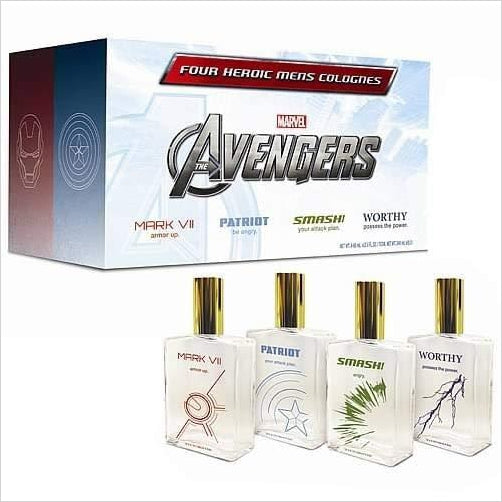 The Avengers Cologne Set - Gifteee. Find cool & unique gifts for men, women and kids