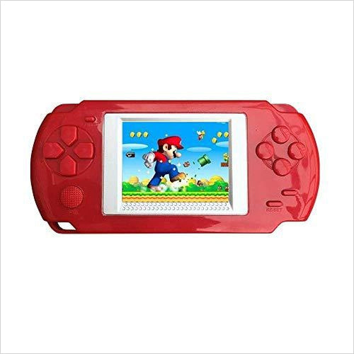 Handheld Game Console for Children, Built in 268 Classic Old Games - Find unique gifts for gamers Xbox, Play Stations, PS, PSP, Nintendo switch and more at Gifteee Unique Gifts, Cool gifts for gamers