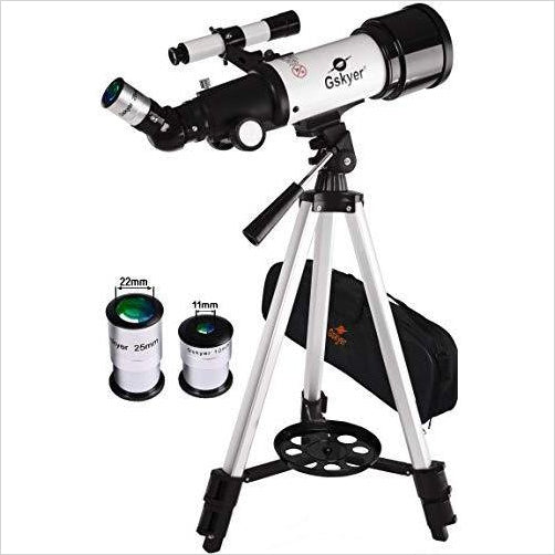 Gskyer Telescope, AZ70400 Travel Refractor - Gifteee. Find cool & unique gifts for men, women and kids