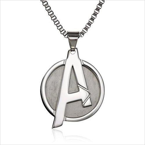 Marvel Avengers Necklace-Jewelry - www.Gifteee.com - Cool Gifts \ Unique Gifts - The Best Gifts for Men, Women and Kids of All Ages