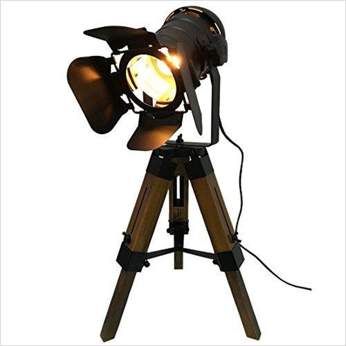 Tripod Spot Light - Gifteee. Find cool & unique gifts for men, women and kids