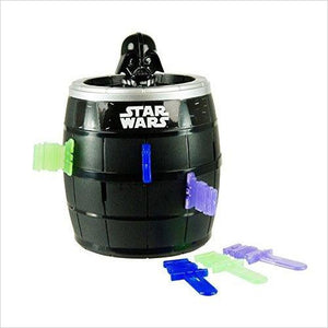 Pop Up Darth Vader Game - Find unique gifts for Star Wars fans, new star wars games and Star wars LEGO sets, star wars collectibles, star wars gadgets and kitchen accessories at Gifteee Cool gifts, Unique Gifts for Star Wars fans