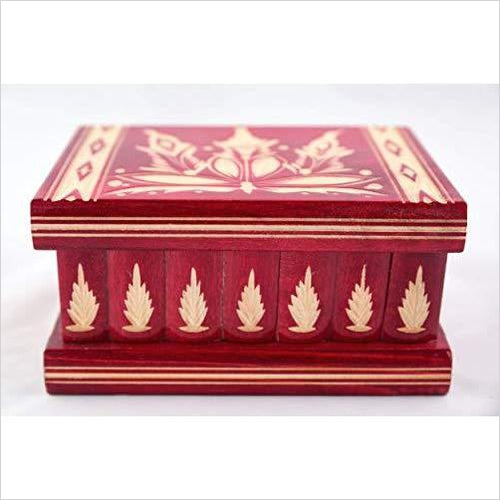 Jewelry Box with Hidden Compartment Safe-Guild Product - www.Gifteee.com - Cool Gifts \ Unique Gifts - The Best Gifts for Men, Women and Kids of All Ages