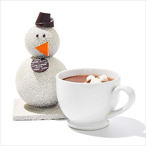 Carl the Drinking Chocolate Snowman-Grocery - www.Gifteee.com - Cool Gifts \ Unique Gifts - The Best Gifts for Men, Women and Kids of All Ages