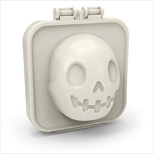 Skull Egg Mold-Kitchen - www.Gifteee.com - Cool Gifts \ Unique Gifts - The Best Gifts for Men, Women and Kids of All Ages