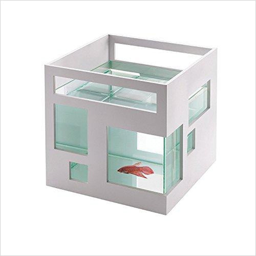 FishHotel Mini Aquarium-Pet Products - www.Gifteee.com - Cool Gifts \ Unique Gifts - The Best Gifts for Men, Women and Kids of All Ages
