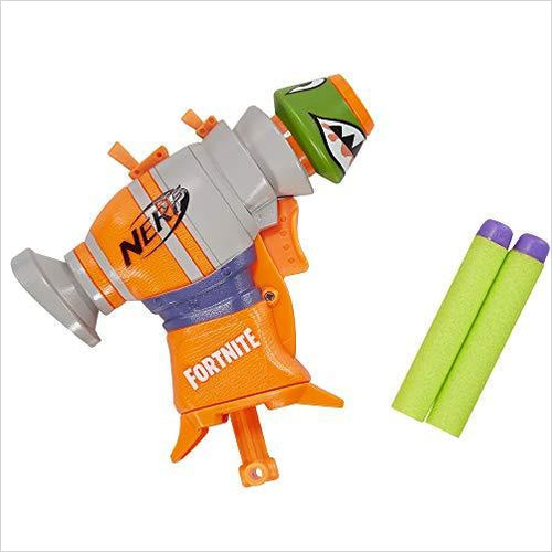 Nerf Fortnite RL MicroShots Dart-Firing Toy Blaster and 2 Official Elite Darts - Gifteee. Find cool & unique gifts for men, women and kids