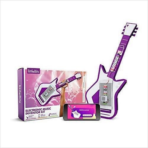 littleBits Electronic Music Inventor Kit - Find unique for sound lovers, for music fans, for musicians, composers and everybody that love unique sound related gifts at Gifteee Cool gifts, Unique Gifts for sound and music