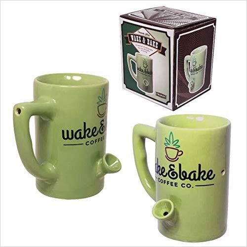 Wake & Bake Coffee Mug - Gifteee. Find cool & unique gifts for men, women and kids