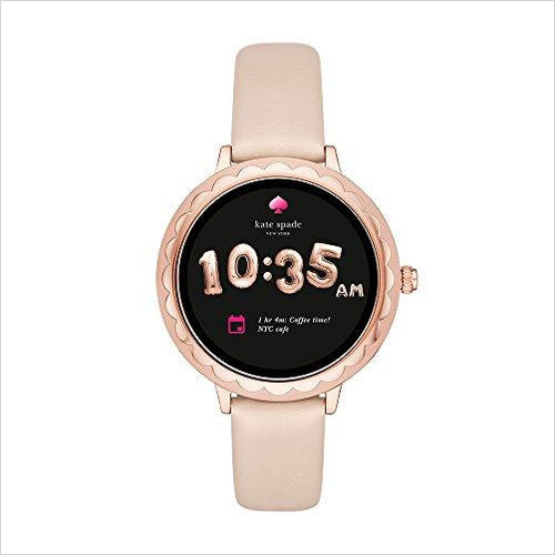 Kate Spade Touchscreen Smartwatch-Watch - www.Gifteee.com - Cool Gifts \ Unique Gifts - The Best Gifts for Men, Women and Kids of All Ages