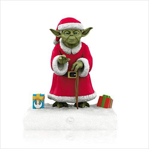 Yoda Peekbuster - Star Wars - Christmas Ornament - Find unique gifts for Star Wars fans, new star wars games and Star wars LEGO sets, star wars collectibles, star wars gadgets and kitchen accessories at Gifteee Cool gifts, Unique Gifts for Star Wars fans