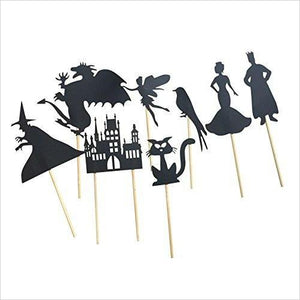 Shadow Puppets - Find unique arts and crafts gifts for creative people who love a new hobby or expand a current hobby, art accessories, craft kits and models at Gifteee Cool gifts, Unique Gifts for arts and crafts lovers