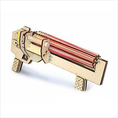 Rubber Band Gun - Find the newest innovations, cool gadgets to use at home, at the office or when traveling. amazing tech gadgets and cool geek gadgets at Gifteee Cool gifts, Unique Tech Gadgets and innovations