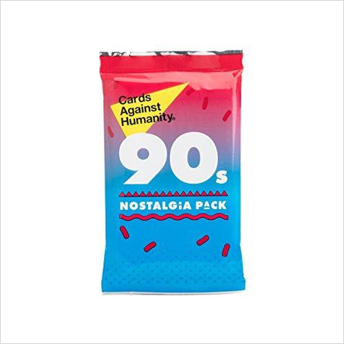 Cards Against Humanity: 90s Nostalgia Pack - Gifteee. Find cool & unique gifts for men, women and kids