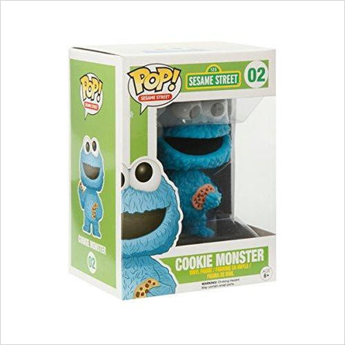 Funko POP TV: Sesame Street Cookie Monster Action Figure - Find unique gifts for a newborn baby and cool gifts for toddlers ages 0-4 year old, gifts for your kids birthday or Christmas, special baby shower gifts and age reveal gifts at Gifteee Unique Gifts, Cool gifts for babies and toddlers
