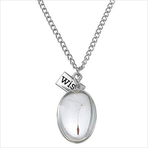 Wish Necklace-Jewelry - www.Gifteee.com - Cool Gifts \ Unique Gifts - The Best Gifts for Men, Women and Kids of All Ages