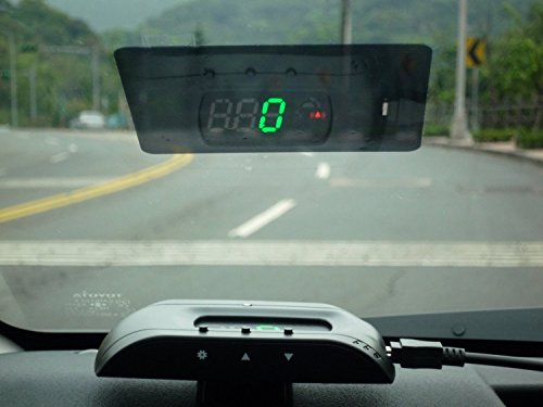 Head-Up Display with Speedometer Km/h,MPH