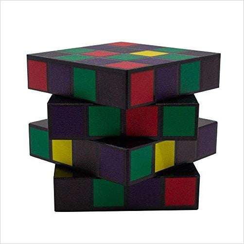Rubik's Cube Herb Grinder - Find unique gift ideas for foodies, for those who love to cook, love to eat, wine lovers, bar accessories and that enjoy unique kitchen gifts and accessories at Gifteee Unique Gifts, Cool gifts for men and women