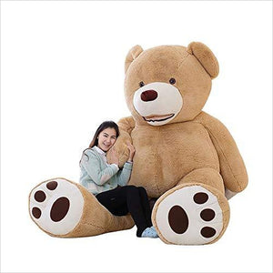Giant Teddy Bear - 79 Inch - Find unique love and romance gifts, special gifts for Valentine's day, beautiful gifts for your girl friend to spread love into the air at Gifteee Cool gifts, Unique Gifts for Valentine's day