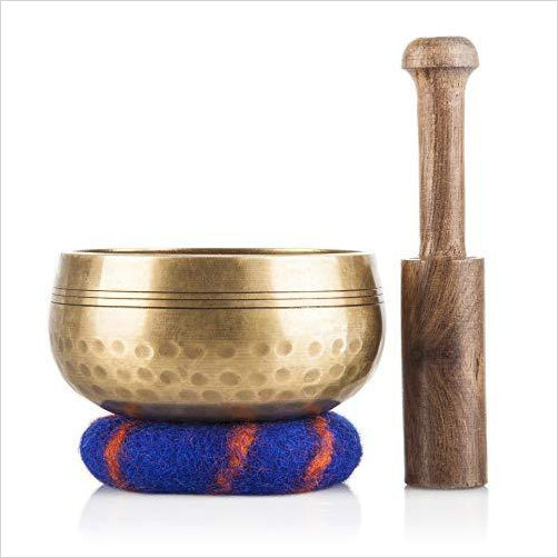 Tibetan Meditation Yoga Singing Bowl Set-Musical Instruments - www.Gifteee.com - Cool Gifts \ Unique Gifts - The Best Gifts for Men, Women and Kids of All Ages