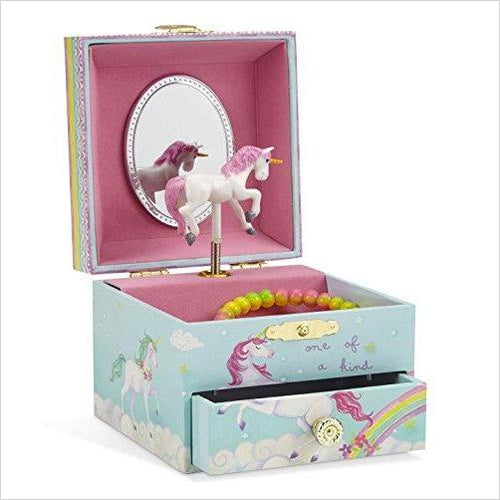 Musical Unicorn Jewelry Box-Home - www.Gifteee.com - Cool Gifts \ Unique Gifts - The Best Gifts for Men, Women and Kids of All Ages