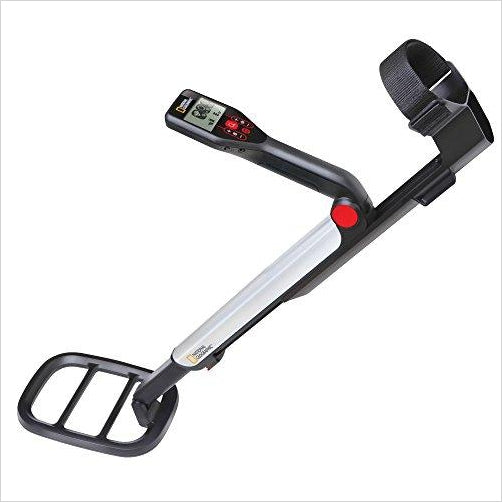 NATIONAL GEOGRAPHIC PRO Series Metal Detector - Find unique gifts for teen boys and young men age 12-18 year old, gifts for your son, gifts for a teenager birthday or Christmas at Gifteee Unique Gifts, Cool gifts for teenage boys