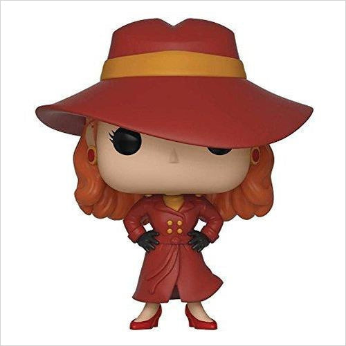 Funko POP! TV: Carmen Sandiego - Carmen Sandiego Collectible Figure-Toy - www.Gifteee.com - Cool Gifts \ Unique Gifts - The Best Gifts for Men, Women and Kids of All Ages