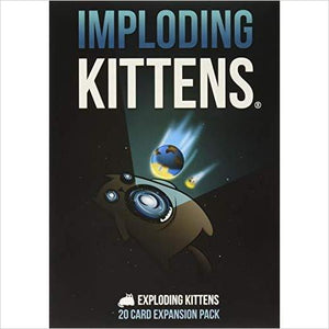 Imploding Kittens: Expansion Pack-Toy - www.Gifteee.com - Cool Gifts \ Unique Gifts - The Best Gifts for Men, Women and Kids of All Ages