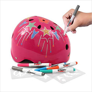 Wipeout Dry Erase Helmet-Sports - www.Gifteee.com - Cool Gifts \ Unique Gifts - The Best Gifts for Men, Women and Kids of All Ages