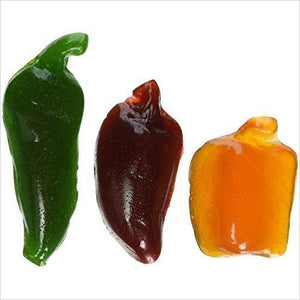 SPICY GUMMY PEPPERS-Grocery - www.Gifteee.com - Cool Gifts \ Unique Gifts - The Best Gifts for Men, Women and Kids of All Ages