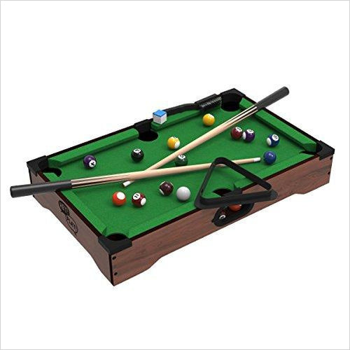 Mini Pool Table - Gifteee. Find cool & unique gifts for men, women and kids