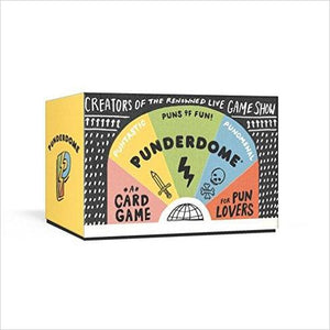 Punderdome: A Card Game for Pun Lovers-Book - www.Gifteee.com - Cool Gifts \ Unique Gifts - The Best Gifts for Men, Women and Kids of All Ages