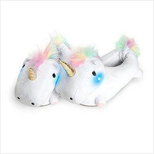 Unicorn Light Up Slippers-Sports - www.Gifteee.com - Cool Gifts \ Unique Gifts - The Best Gifts for Men, Women and Kids of All Ages